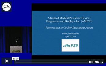 Presentation: AMP3D
