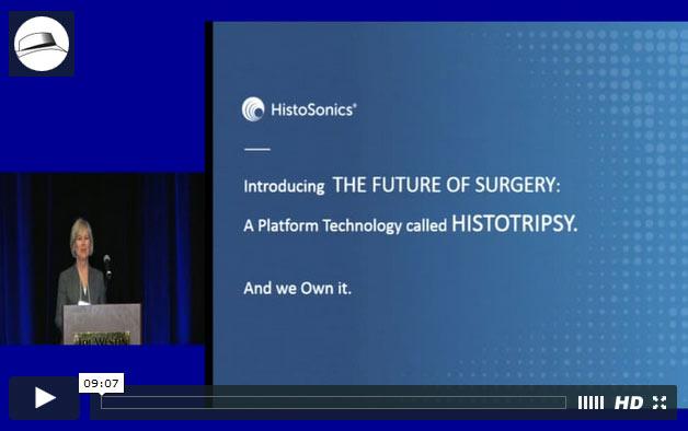 Presentation: HistoSonics