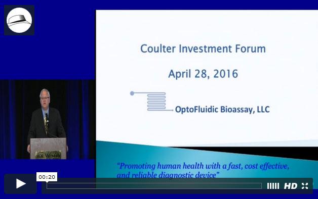 Presentation: OptoFluidic Bioassay