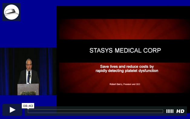 Presentation: Stasys Medical Corp.